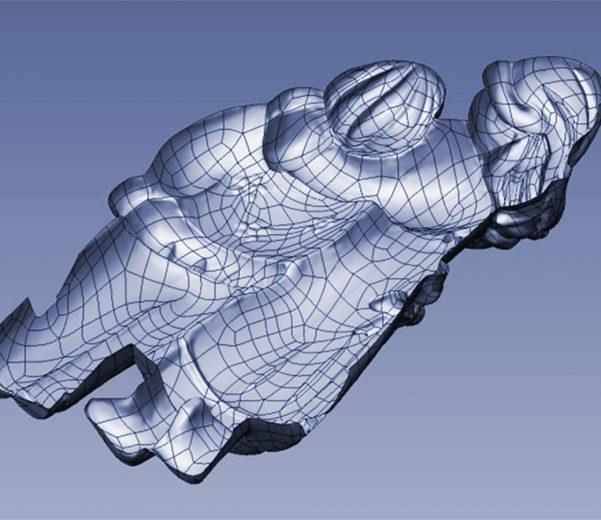 Izrada umjetničkog modela za lijevanje u industrijski kalup