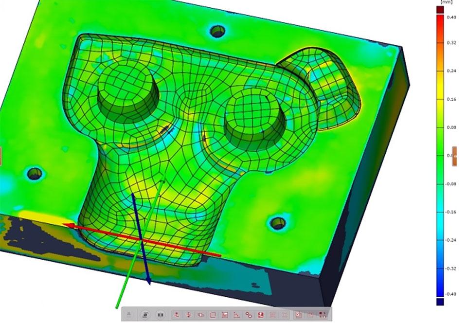 Odstupanja kalupa od CAD modela