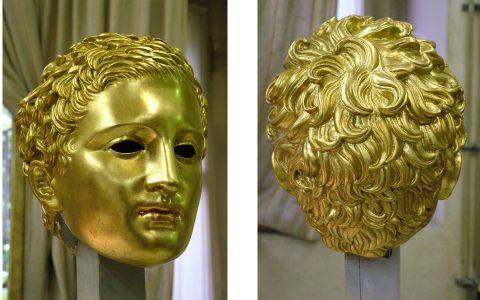 3D isprintana glava Apoksiomena