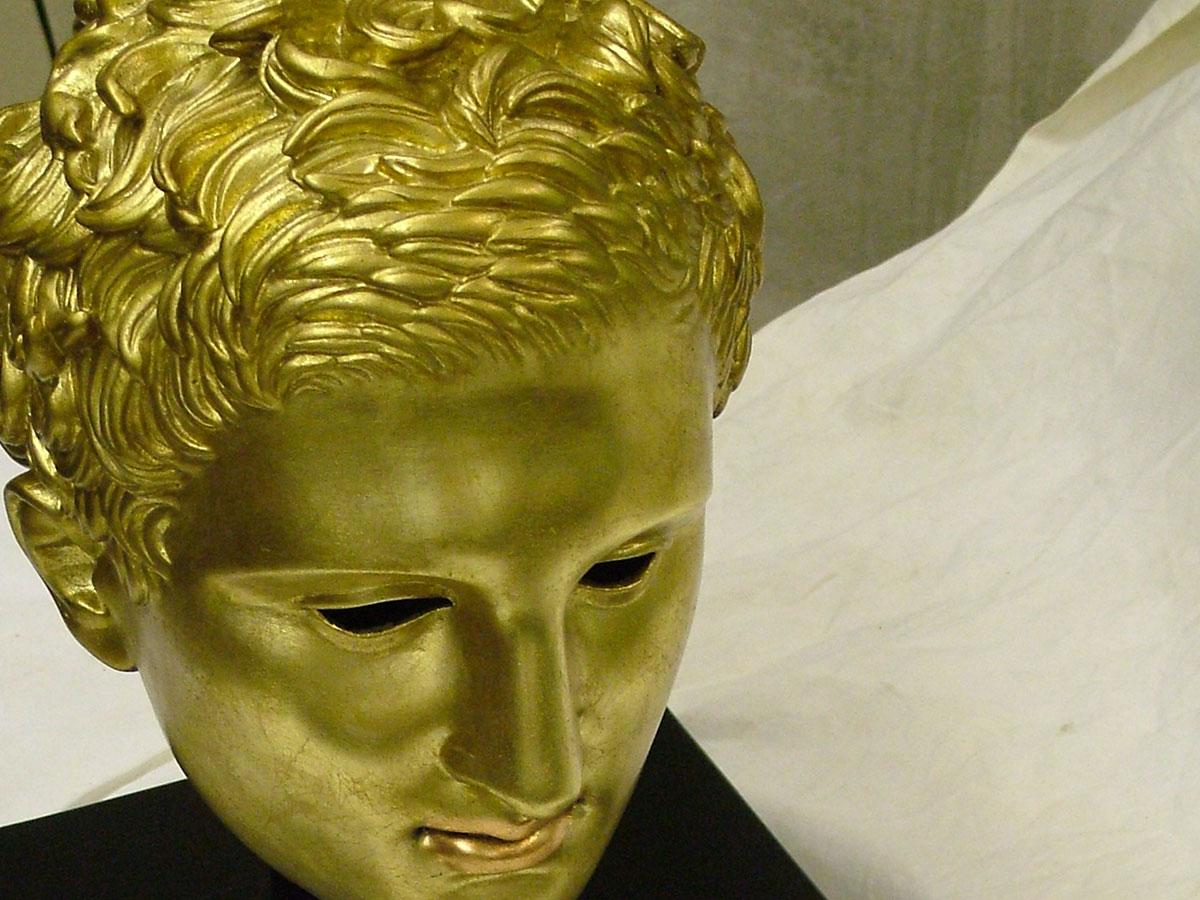 Reprodukcija glave Apoksiomena upotrebom 3D tehnologije